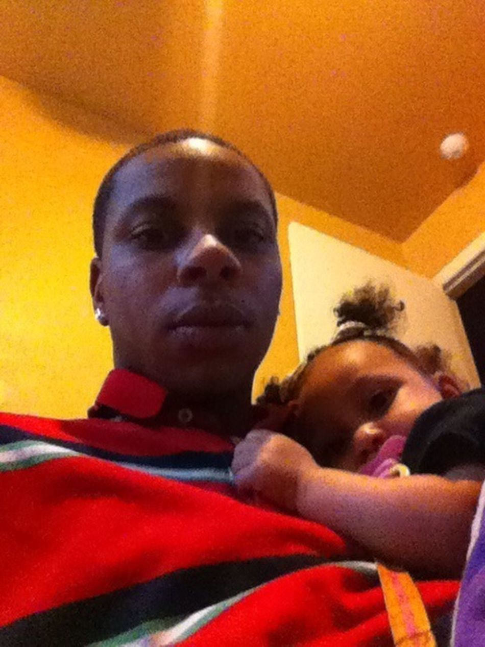 Me And My Daughter When We Was Sleepy Earlier
