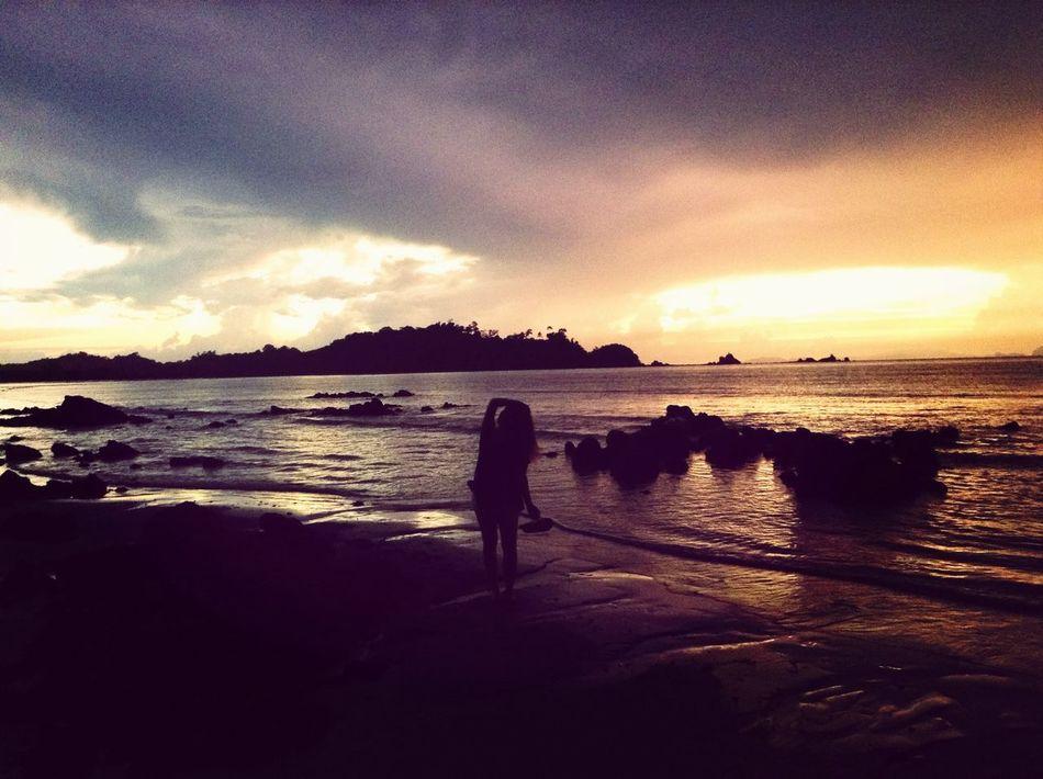 Koh phayam Thailand. Sunshine Enjoying The Sun Relaxing Sea