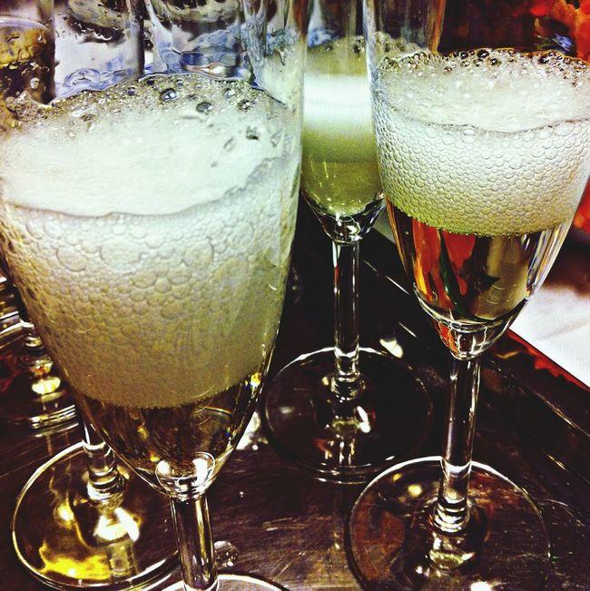 """Cheers!"" Birthday Champagne Happy"