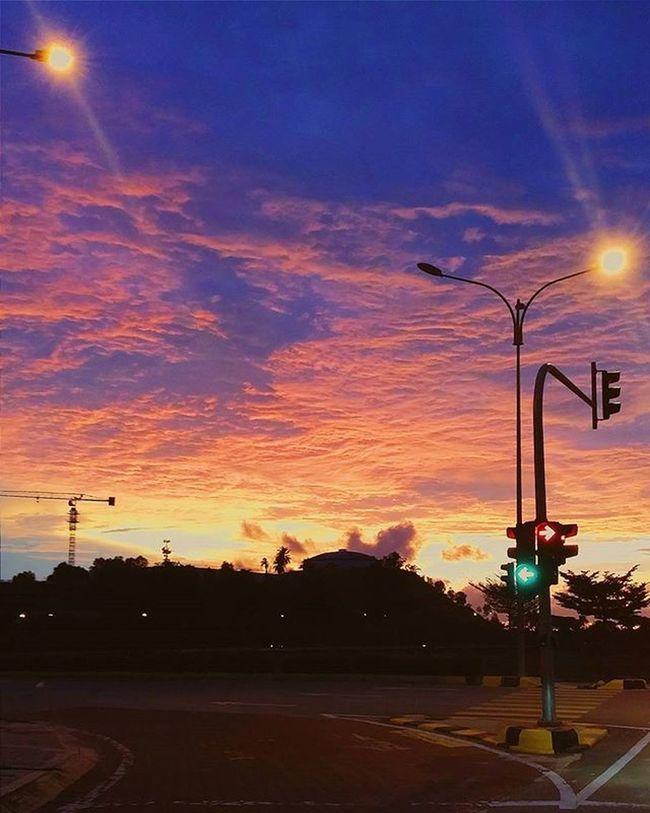 Sunset Puncakalam Photography