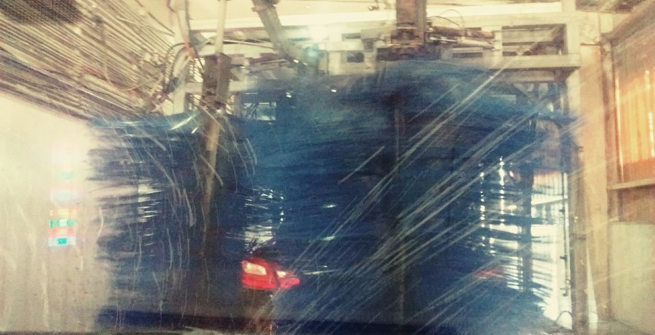 Car Wash Abstract Multi Colored Business Finance And Industry