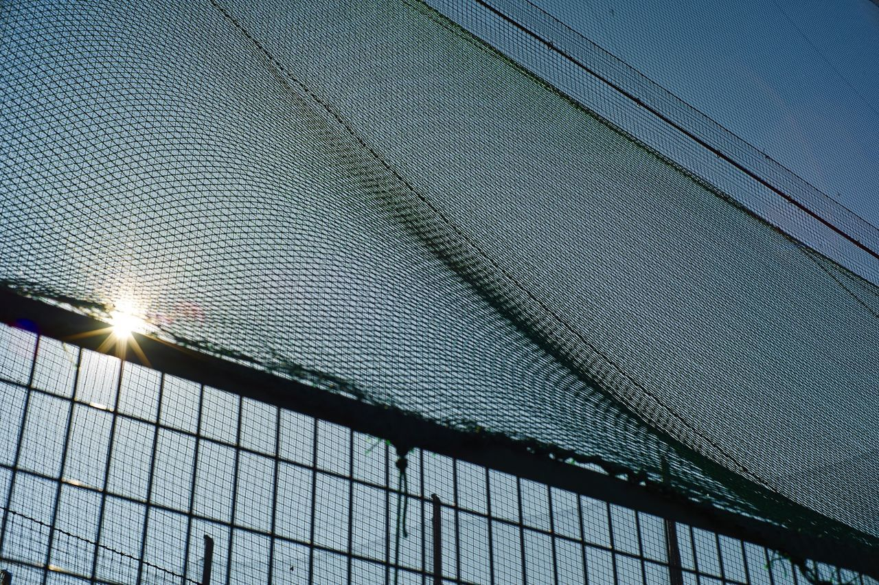 Beautiful stock photos of sun, Clear Sky, Day, Fence, Net