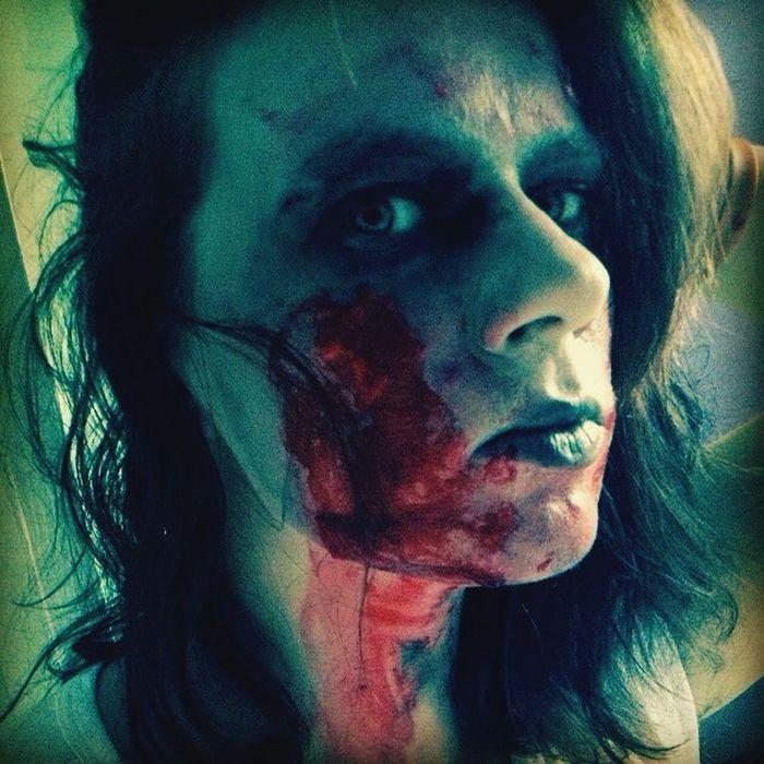 Makeup Zombie Walkingdead That's Me Woohoooo!! Zombie Apocalypse