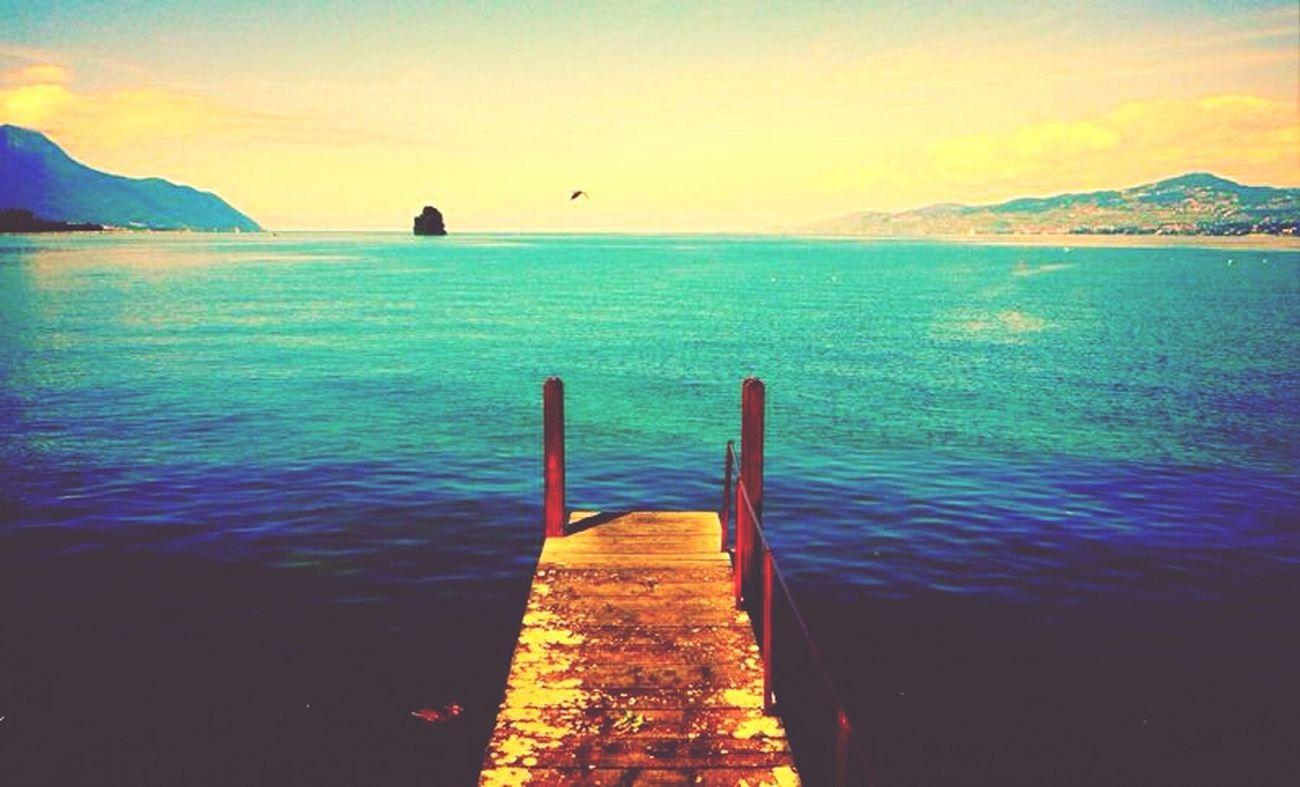 cette photo a été prise au bord du lac ;)