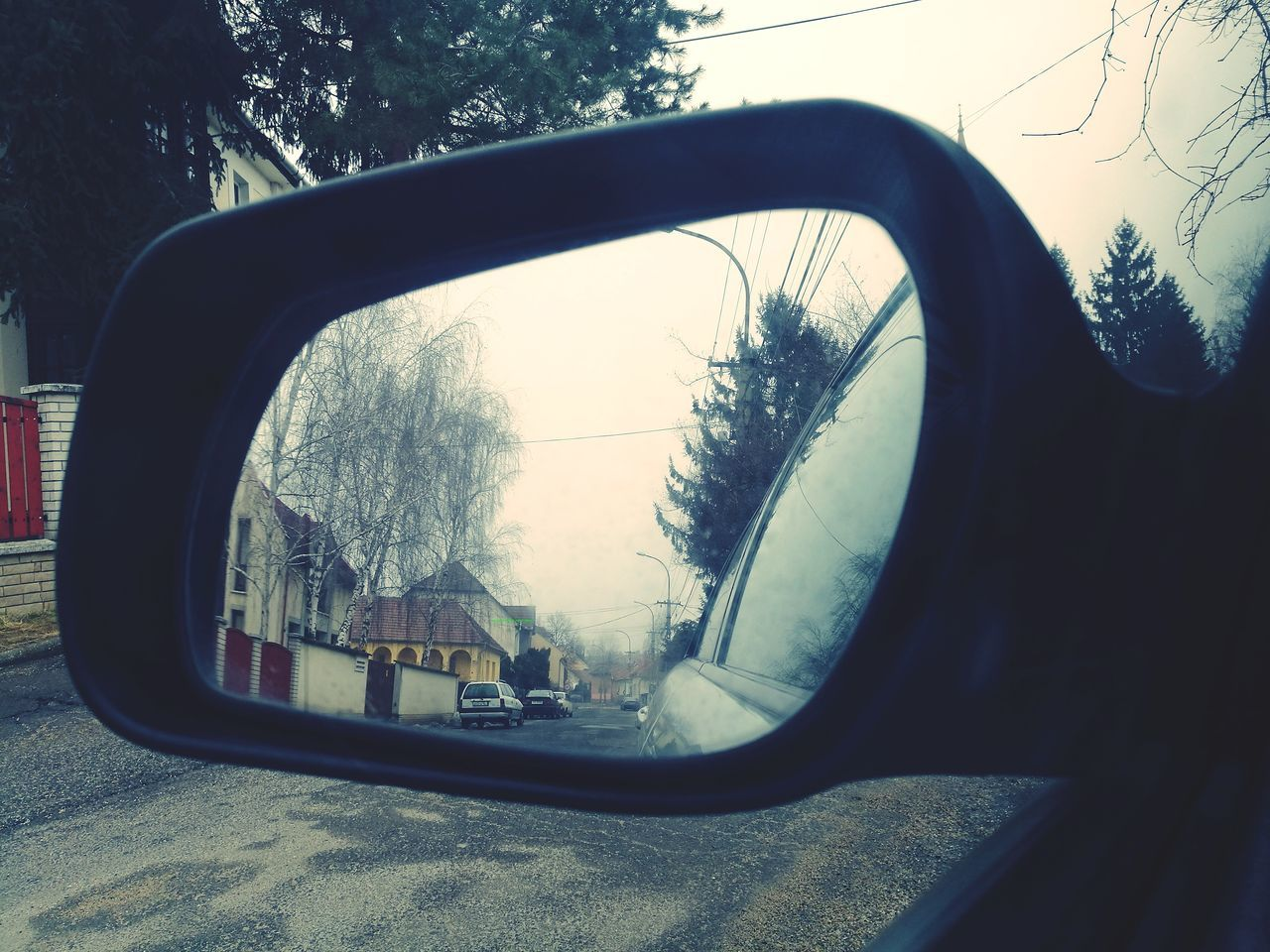 The City Light Streetinmirror Mirror Picture Side-view Mirror No People Outdoors Car Close-up
