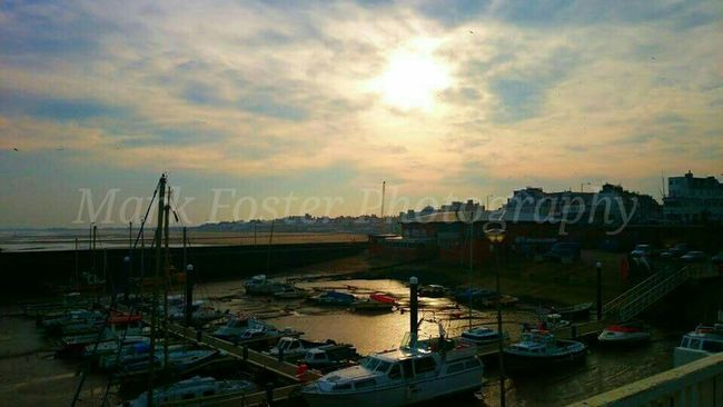 Beach Boats Sea Sunset Reflection Check This Out Relaxing Winter Autumn Midday Chilled in Bridlington!