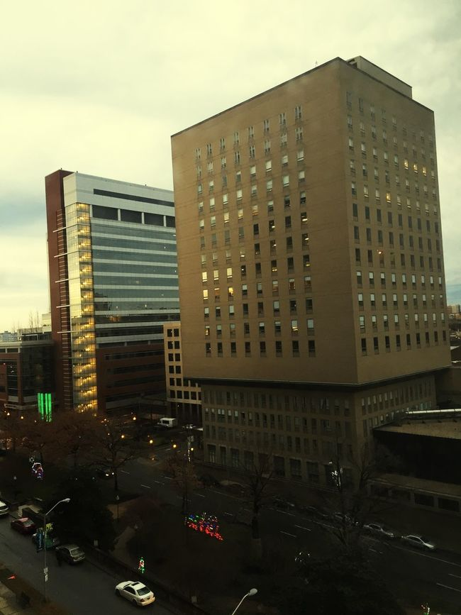 View from the 10th floor. Embassy Suites Inner Harbor. Baltimore, MD.