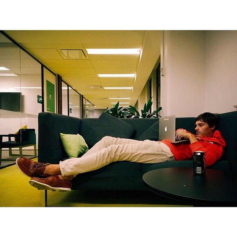 Evening coding, ShipIt 27, at the @Atlassian offices. Sydney Atlassian Vscocam Lumia1520