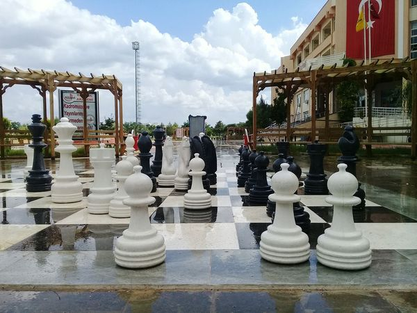 Chess Chess Piece Strategy Cloud - Sky Chess Board Leisure Games Day Outdoors Sky Competition Knight - Chess Piece No People