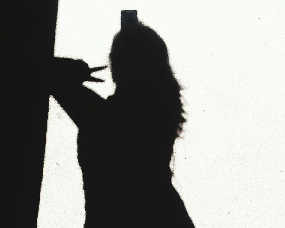 Silhouette One Person Human Hand Adult Lifestyles Sunlight Tranquility Human Body Part Women Real People