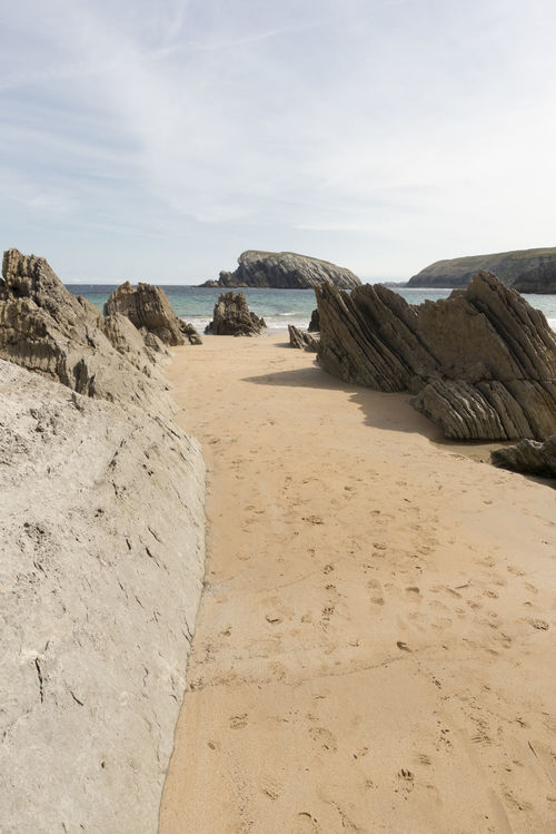 Arnia Arniabeach Beach Beauty In Nature Blue Cantabria Coast Day Landscape Nature Nature No People Ocean Outdoors Sand Scenics Sea Sky SPAIN Tranquil Scene Tranquility Water