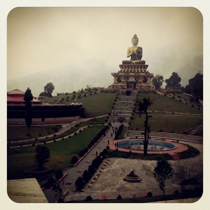 Place Of Worship Religion Travel Destinations Which One Is Always Good To See.. Architecture Ravangla Sikkim