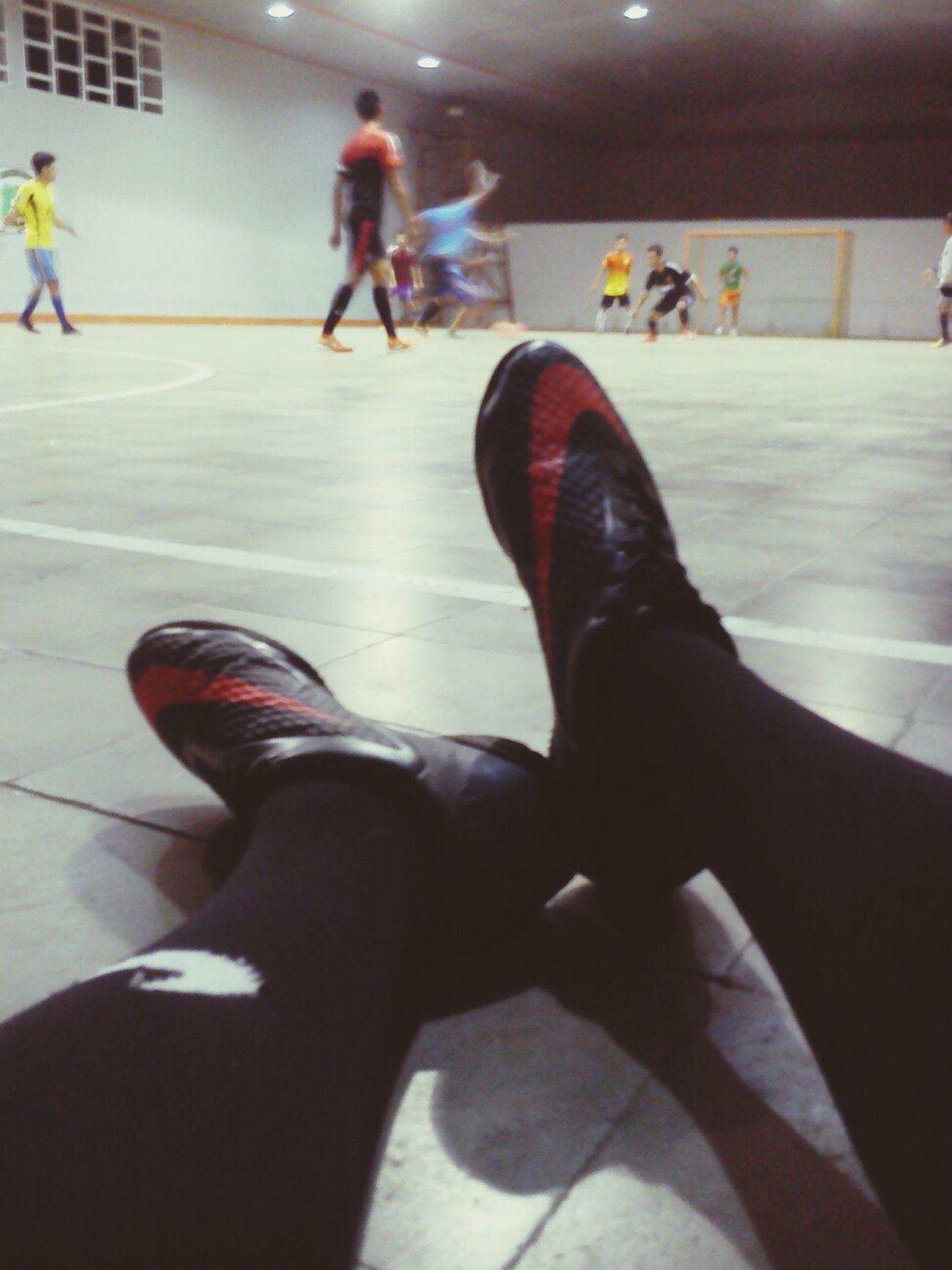 Very very tired! Futsal Team Sport Nike Hypervenom