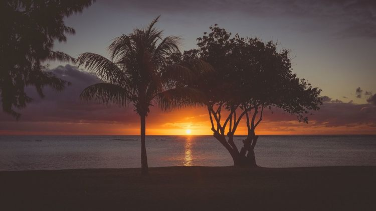 Another perfect Sunset in Mauritius
