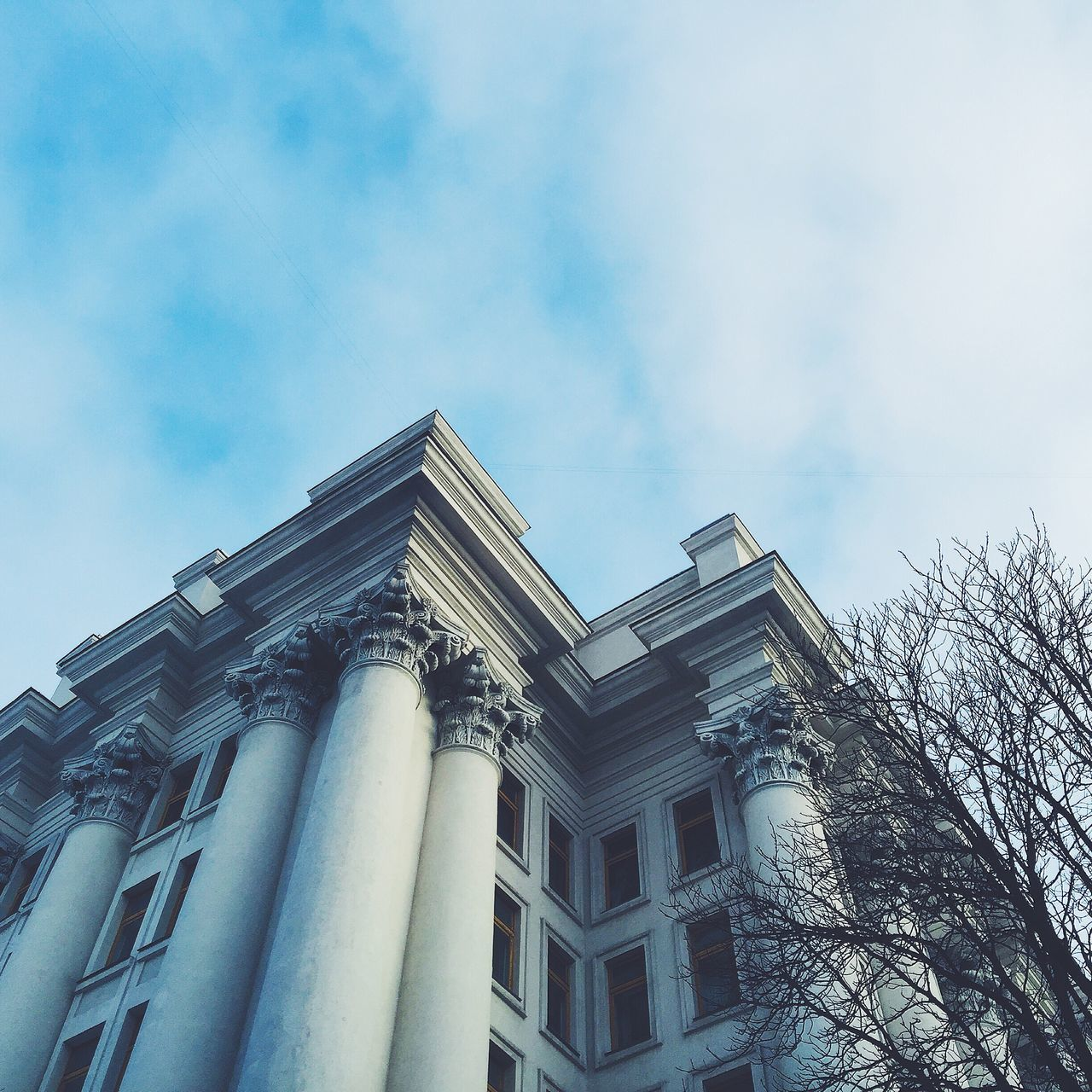 Beautiful stock photos of ukraine, architecture, building exterior, built structure, low angle view