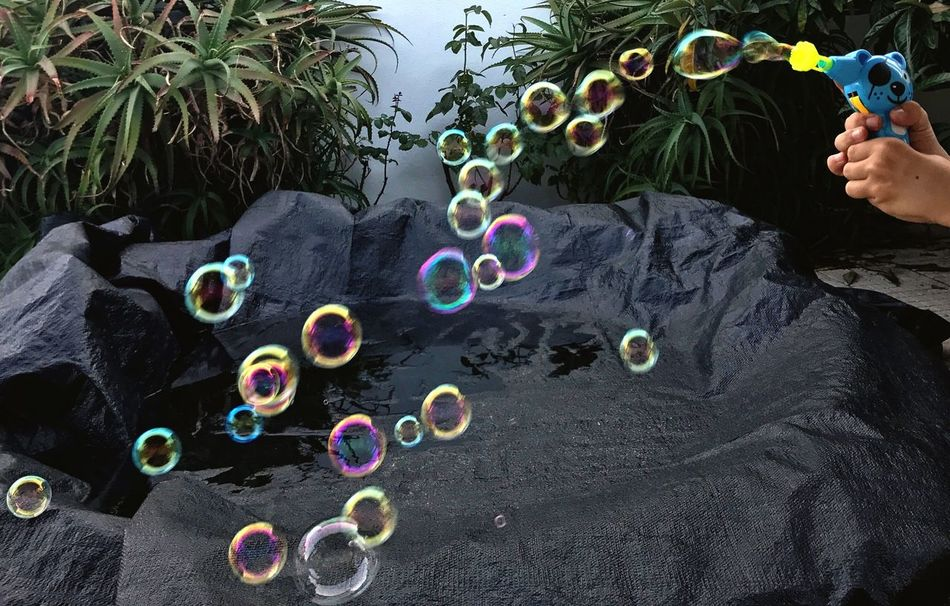 The Week On EyeEm Bubble Bubble Wand Day Fragility Multi Colored Childhood Outdoors Child