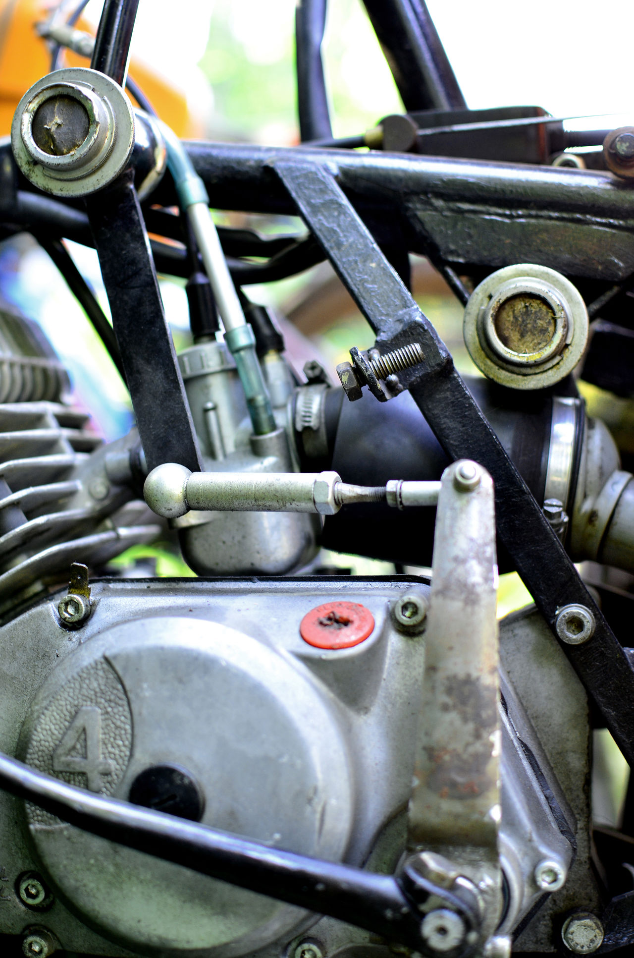nostalgic feelings... Close Up Close-up Day Engine Gear Land Vehicle Macro Makro Mechanic Mechanical Metal Mode Of Transport Motor Motorbike Motorcycle Motorcycles No People Outdoors Steam Train Transportation