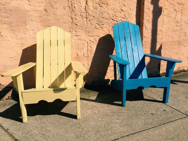 Two of a kind... Wilmington NC Wilmington Chairs Stucco Pastel Power