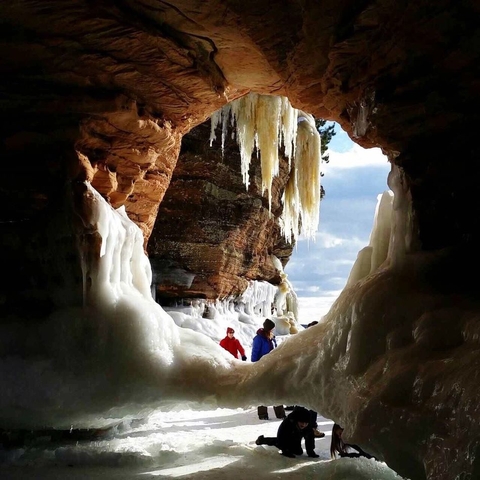 Ice Cave Icecave Winter Frozen Explanation Rock Formation Beauty In Nature Adventure Lifestyles Geology Travel Destinations Tranquil Scene Followfriday EyeEm Best Shots EyeEm Nature Lover