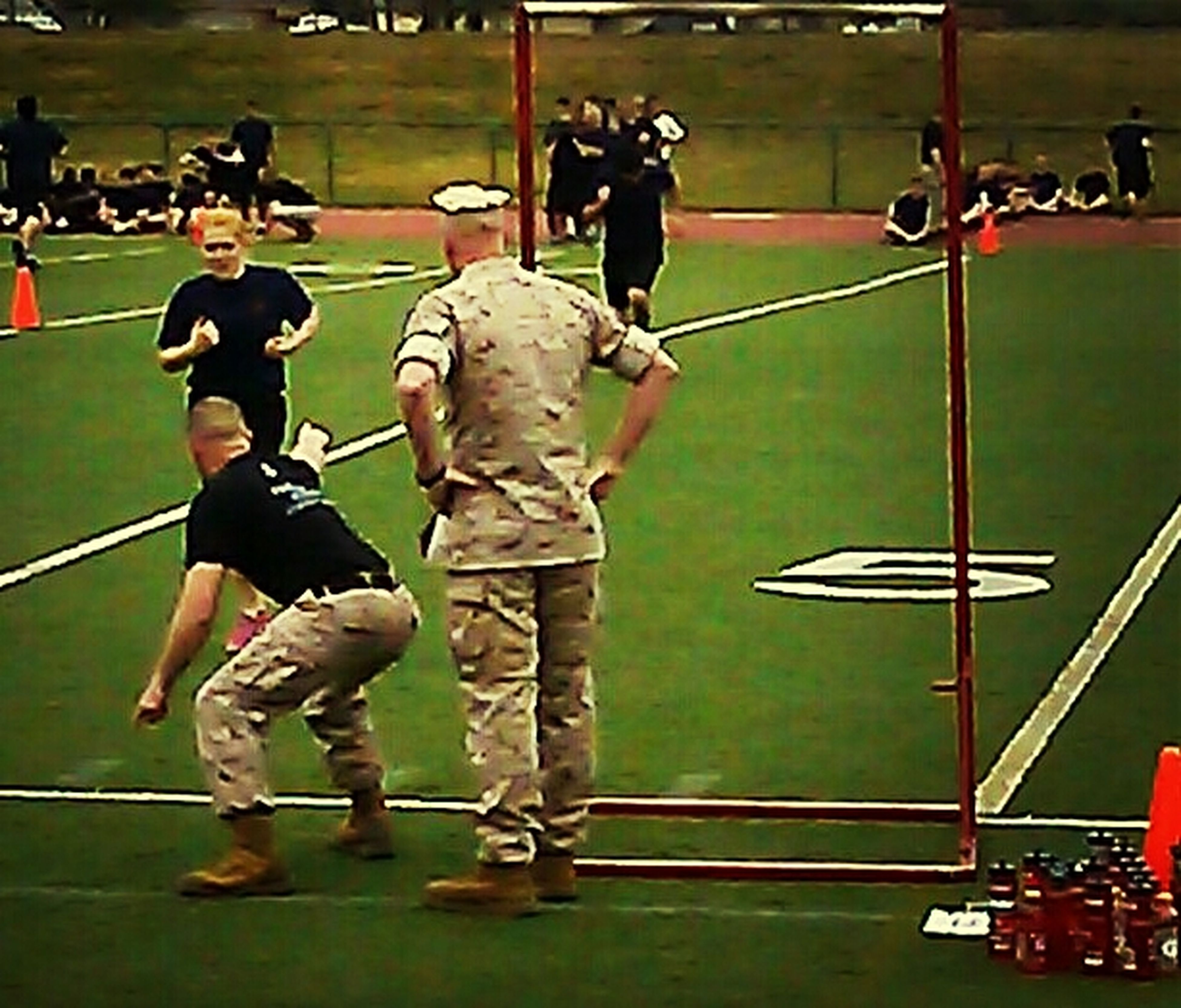 My Daughter at MarineRecruit Training! I'm a Proud Marien Mom! Marine Marine Mom Courage Brave