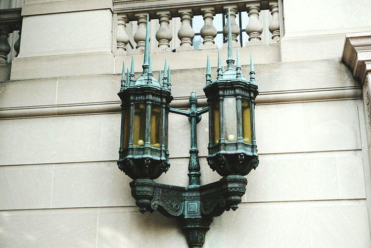 Outdoors Big Lantern Old Light Strange Design