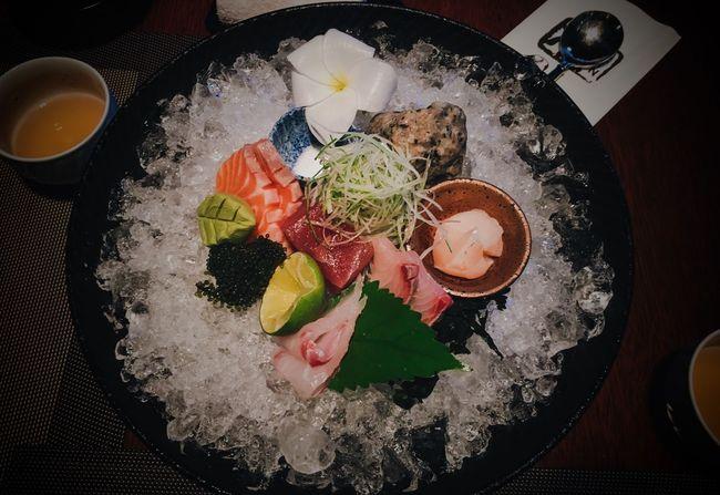 The Mix Up Sashimi Bowl Sashimi Dinner Foodart Sashimilovers