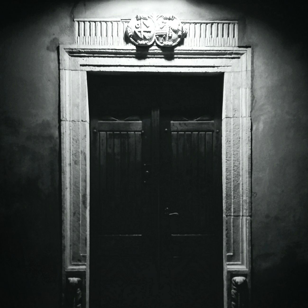 Door No People Built Structure Architecture Outdoors Entrance Blackandwhite Photography Light And Shadow Light Church Bnw Old First Eyeem Photo