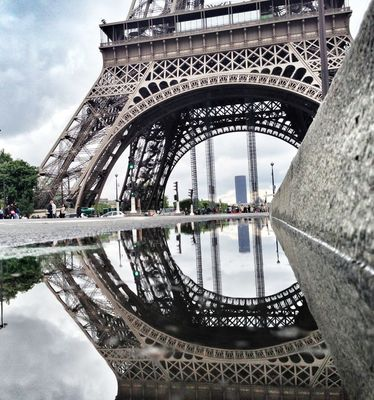 Paris at Tour Eiffel by Olivier Ka