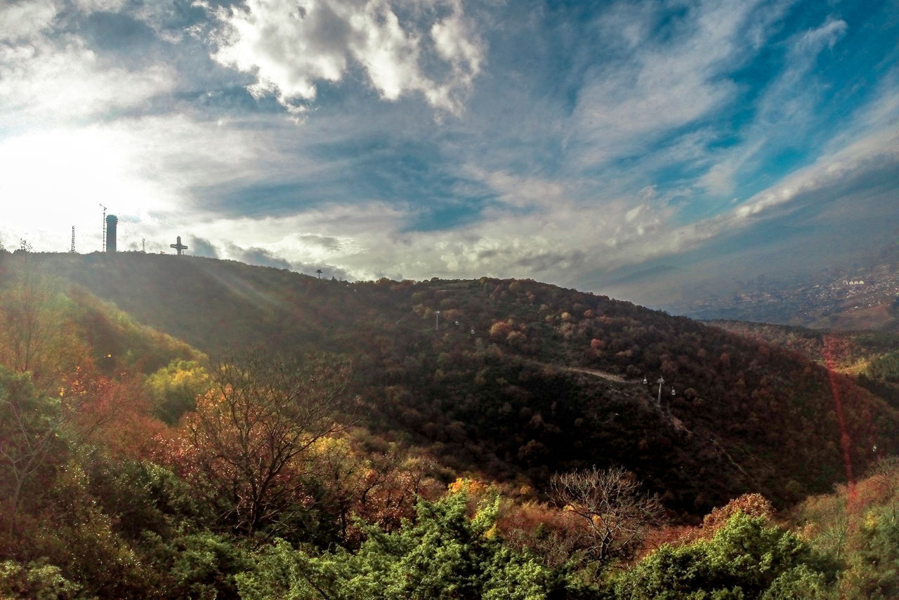 Mountain Nature Landscape Sky Beauty In Nature Cloud - Sky Tree Adventure Real People Scenics Vacations People Outdoors Adults Only Adult Day Gopro ArtWork Sundays Art And Craft GoPro Hero3+ Macedonia Skopje