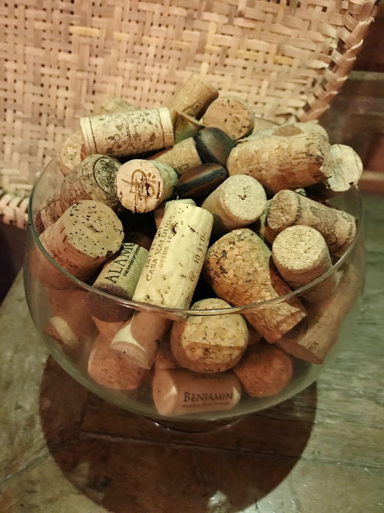 Food And Drink Wine Cork Cork - Stopper Wine Bottle Wine Bottle High Angle View Indoors  Table Drink Basket Large Group Of Objects Alcohol No People Variation Food Close-up Healthy Eating Day Freshness