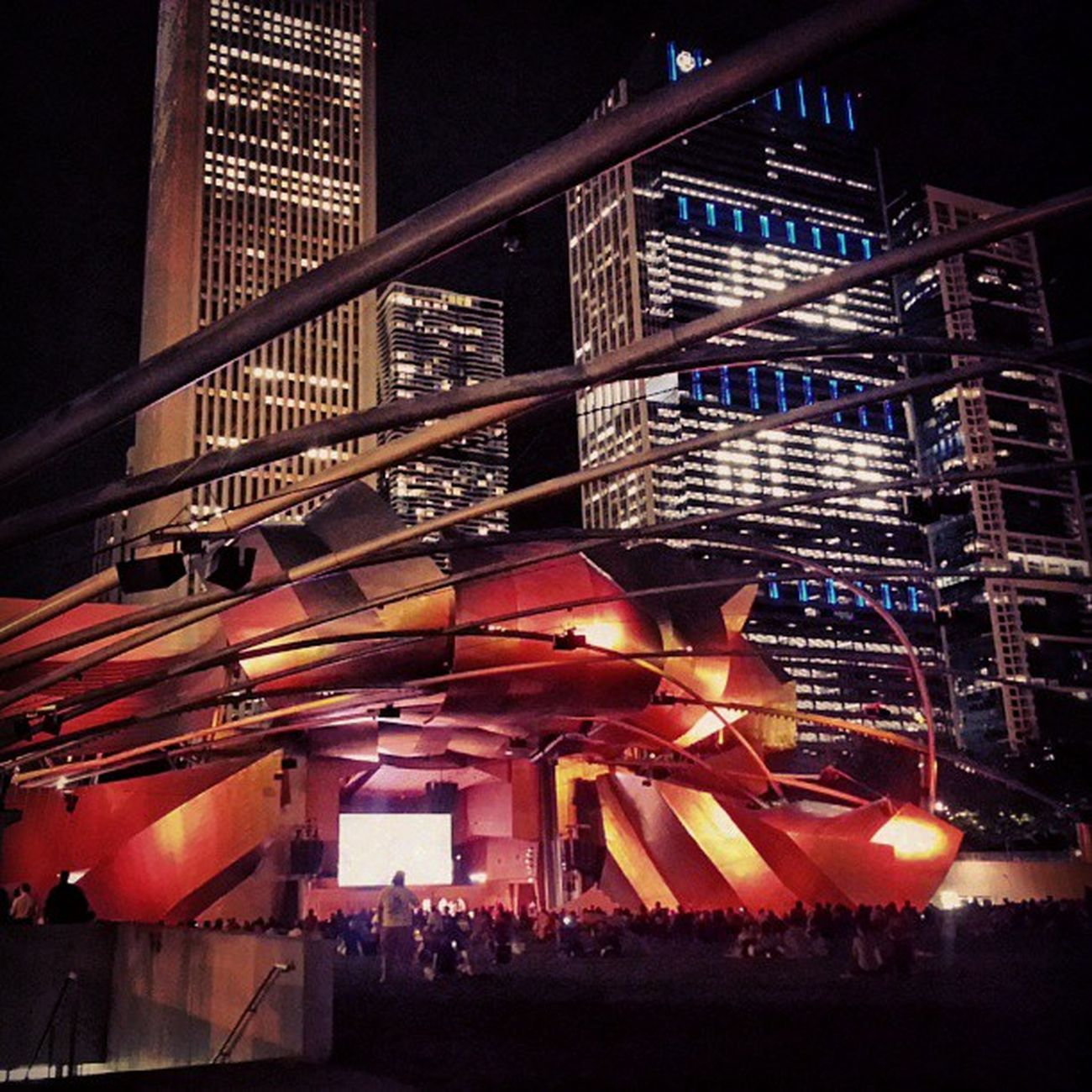 Opening day Chicagojazzfest
