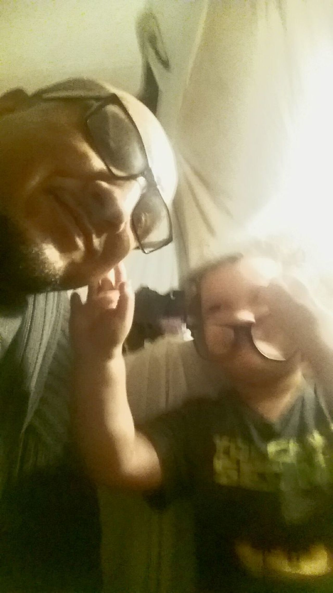 [Son Glasses] The Week On EyeEm father and son My Son And I.