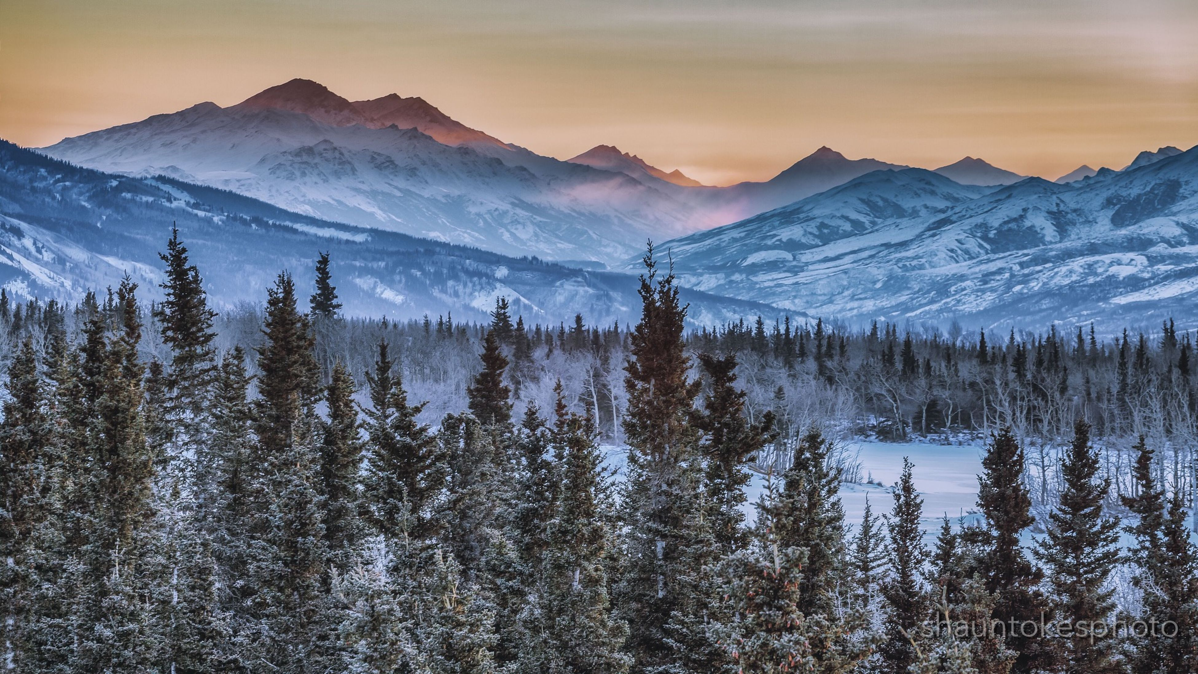 snow, winter, cold temperature, mountain, season, tranquil scene, tranquility, mountain range, scenics, beauty in nature, weather, snowcapped mountain, nature, covering, landscape, sky, frozen, non-urban scene, idyllic, sunset