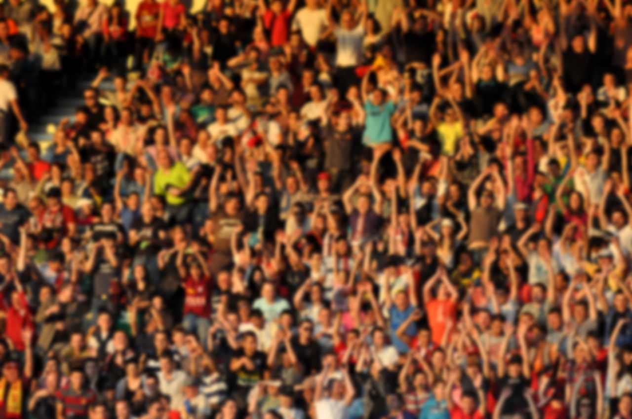 Beautiful stock photos of fußball, Audience, Backgrounds, Crowd, Day