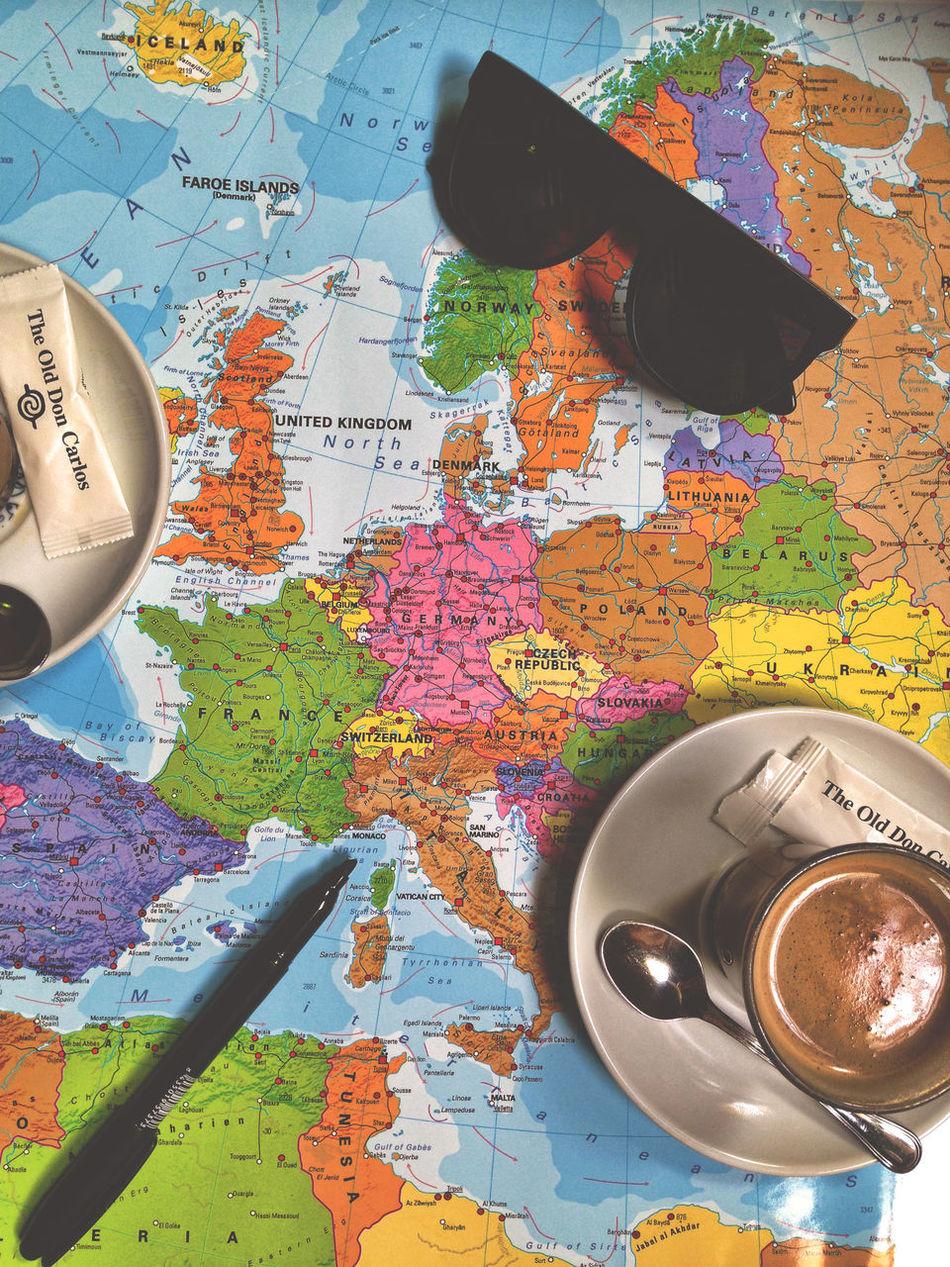 Beautiful stock photos of map, design, creativity, multi colored, circle