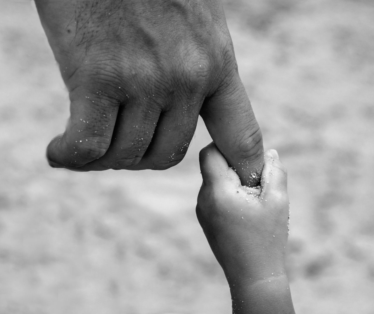 Just a little while longer.. Human Body Part Child Sand Two People Togetherness Summer Childhood Vacations Lifestyles Day Close-up Giving Adult Outdoors Human Hand Beach People Real People Expressive Innocence Holding Hands Holding On Fatherhood Moments Father Littleandbig