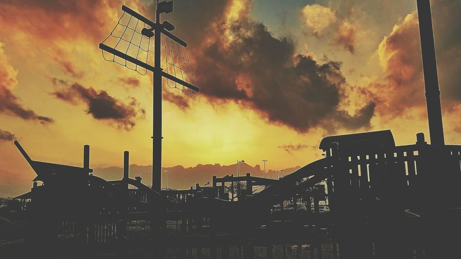 Pirateship  Cloud - Sky Outdoors Streetphoto Silhoutte Photography