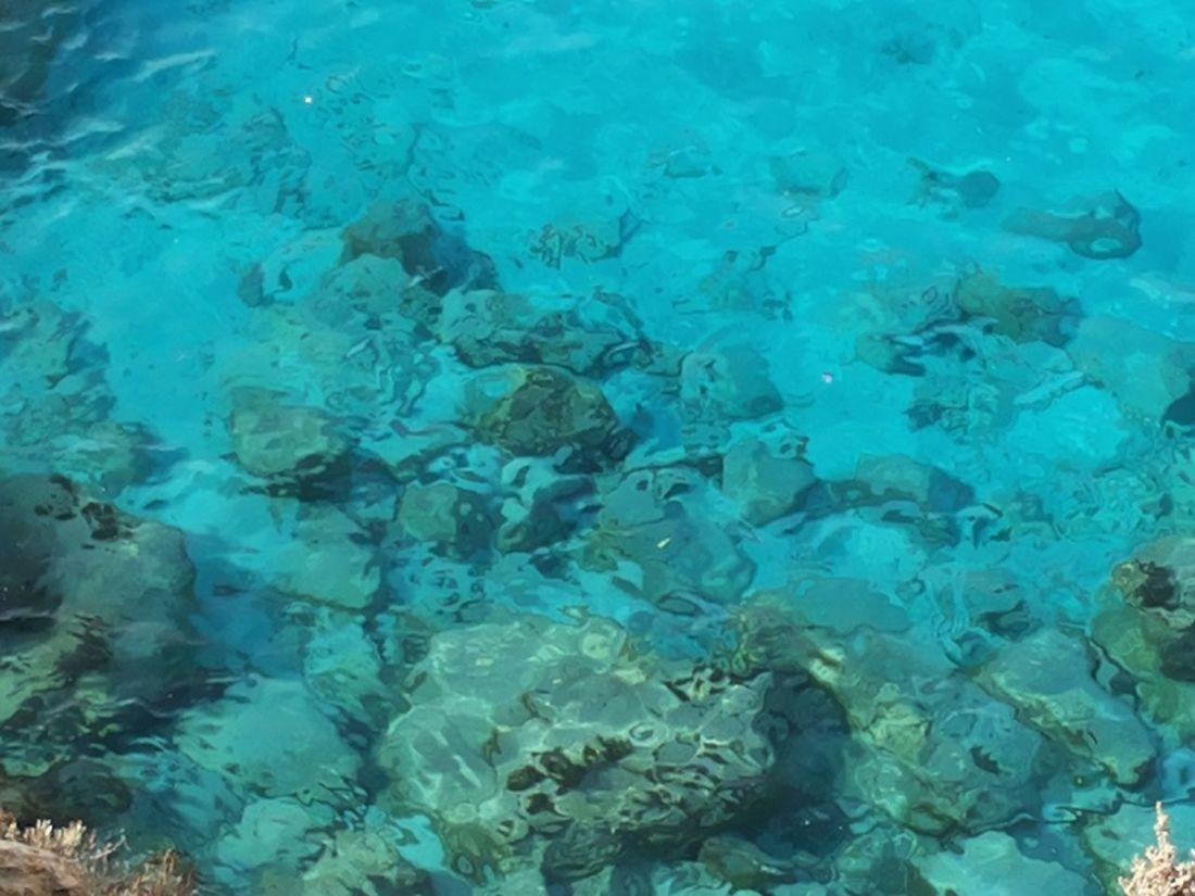 Sea View Sea Rocks Under Water