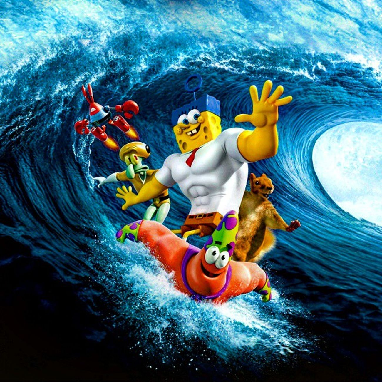 Spongebob Patrick Serfing губкабоб патрик Серфинг