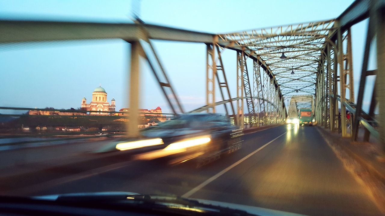 Esztergomi Bazilika Transportation Bridge - Man Made Structure Car Sky Road Connection Outdoors Architecture Bridge Church Temple Architecture Architecture_collection Urban Urbanphotography Move Life Vehicle Cars Road Trip Light Lights Beautiful