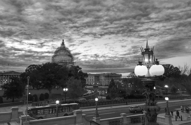 Capitol Hill Streetphotography EyeEm Best Shots - Black + White Blackandwhite Architecture Sky