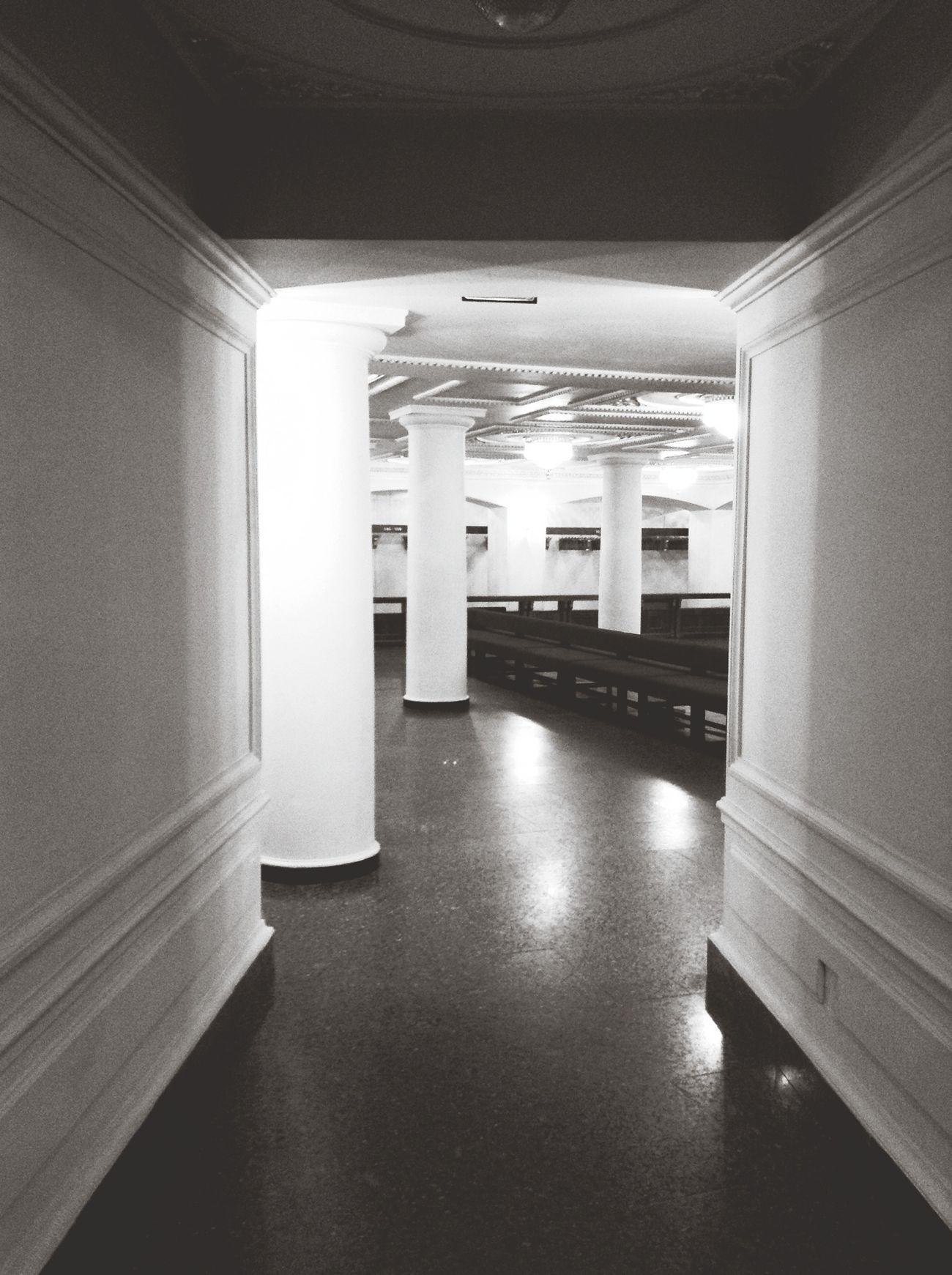 Simplicity Monochrome Building Black And White