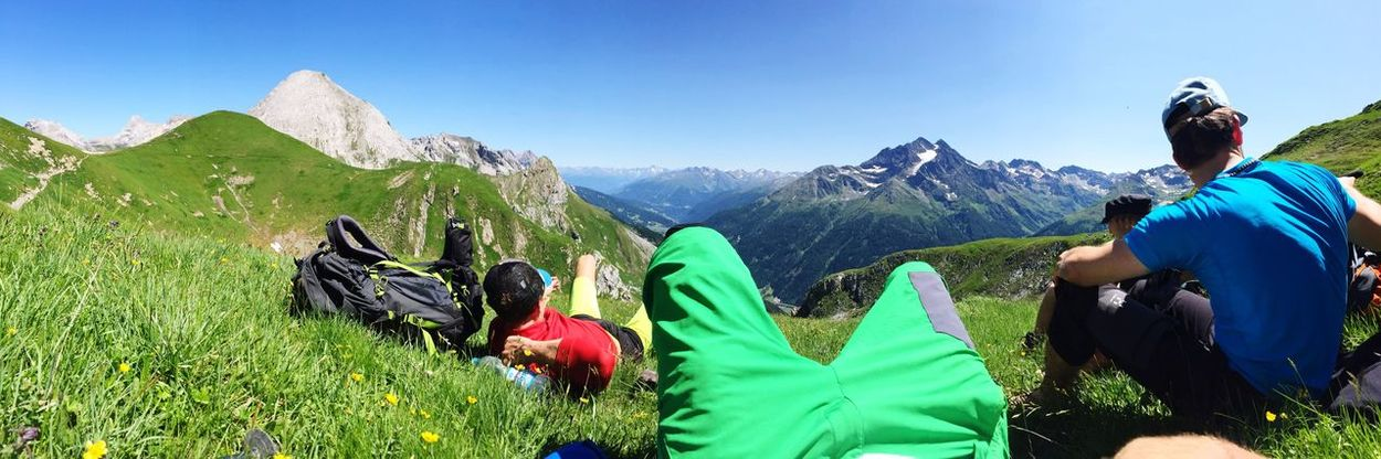 People And Places Rest in the Austrian Alps Mountain Beauty In Nature