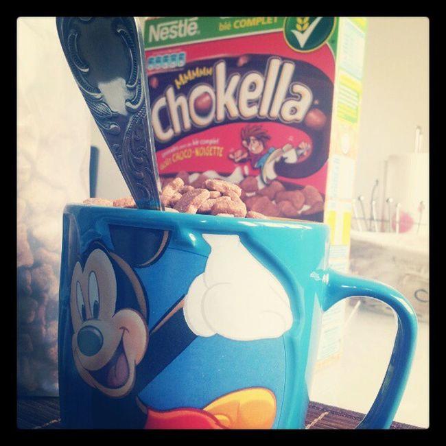 Chokella Nestle Miam Petitdej chocolat disney mickey best chocolate hmmm excellent