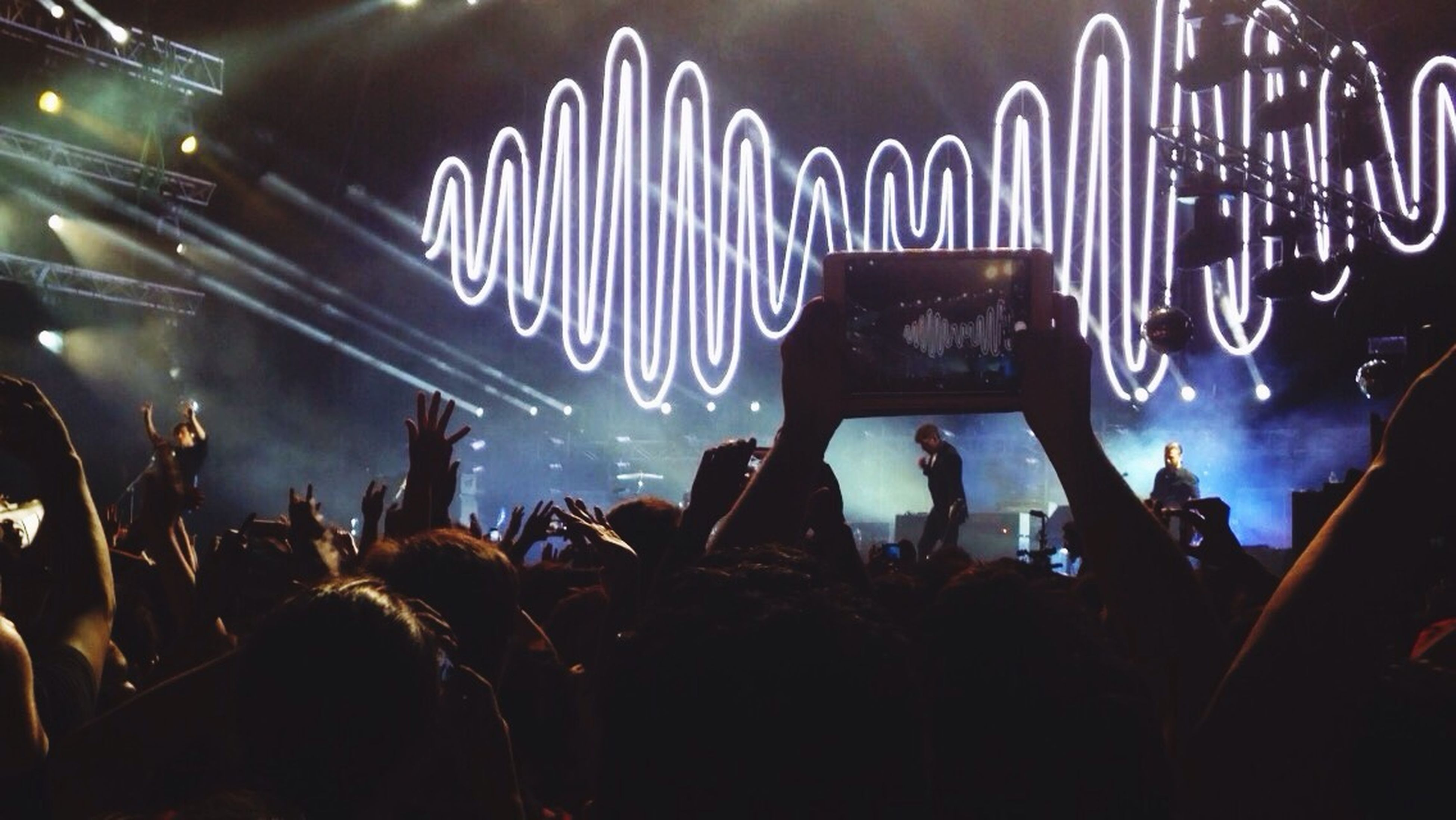 mejor día de mi vida ??❤️ Arcticmonkeys Concert BestdayAMtourChile Santiago Movistararenas