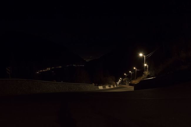 Almaty Kazakhstan Travel Mountains Touge Light Streetphotography Road Night Auto