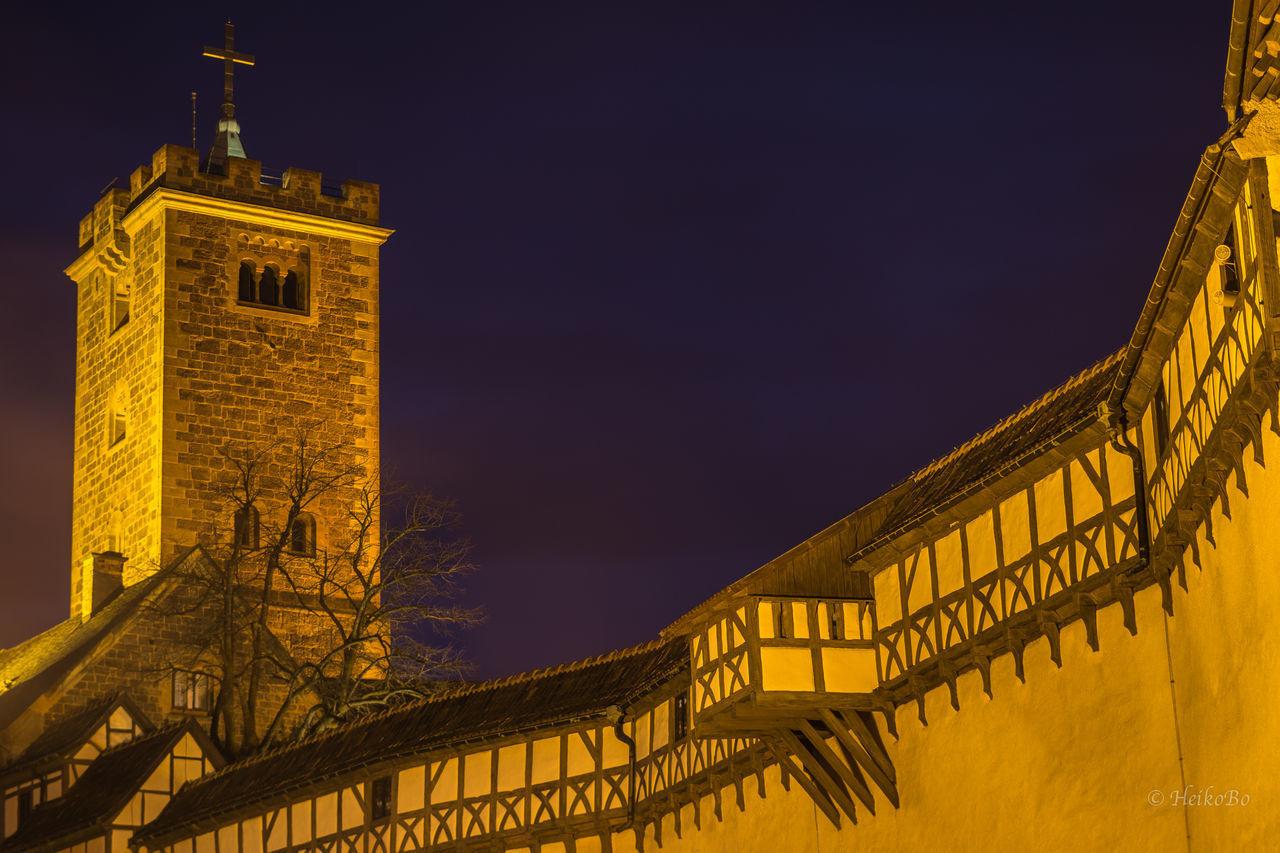 Wartburg Eisenach Heikobo Wartburg Eisenach Thuringen Thüringen Erleben Thüringenentdecken Burg Nightphotography Lutherjahr2017