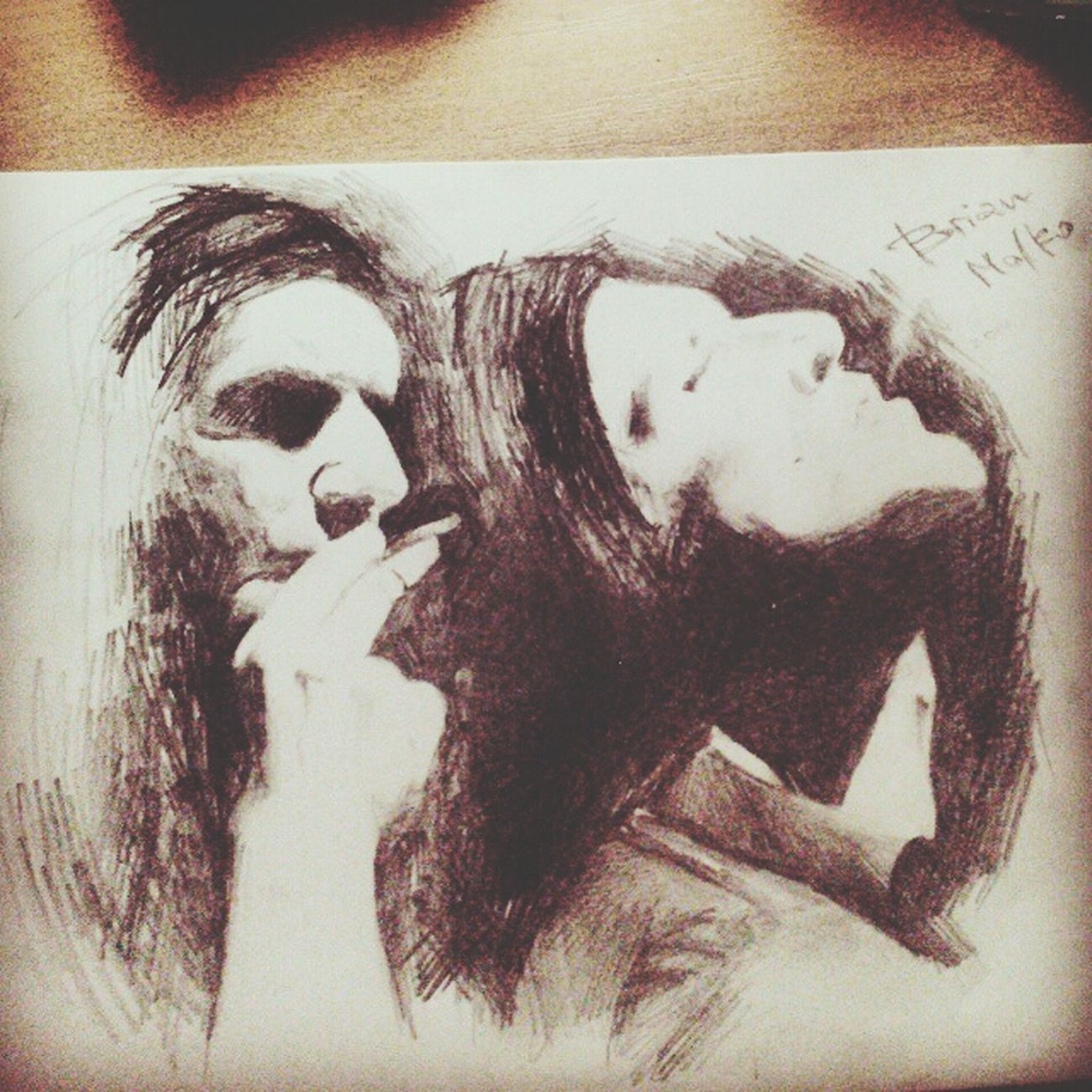 Brianmolko Placebo Art Drawing
