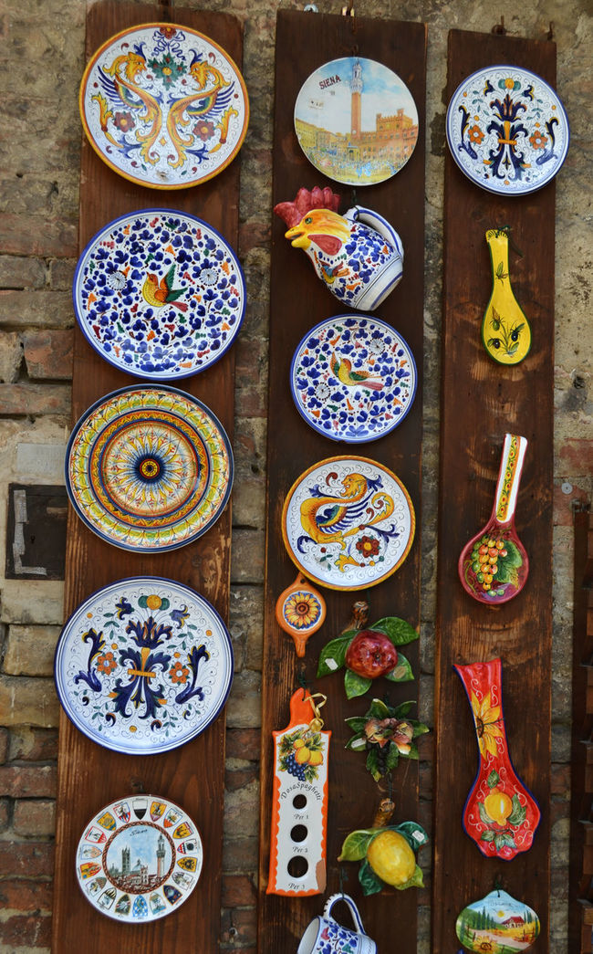 Art Art Work Ceramics Creativity Exploring Tuscany EyeEm Best Shots Food And Drink Indoors  Plate Porcelain  Souvenir Tradition Travel Photography Tuscany My Best Photo 2015 Greetings From Italy