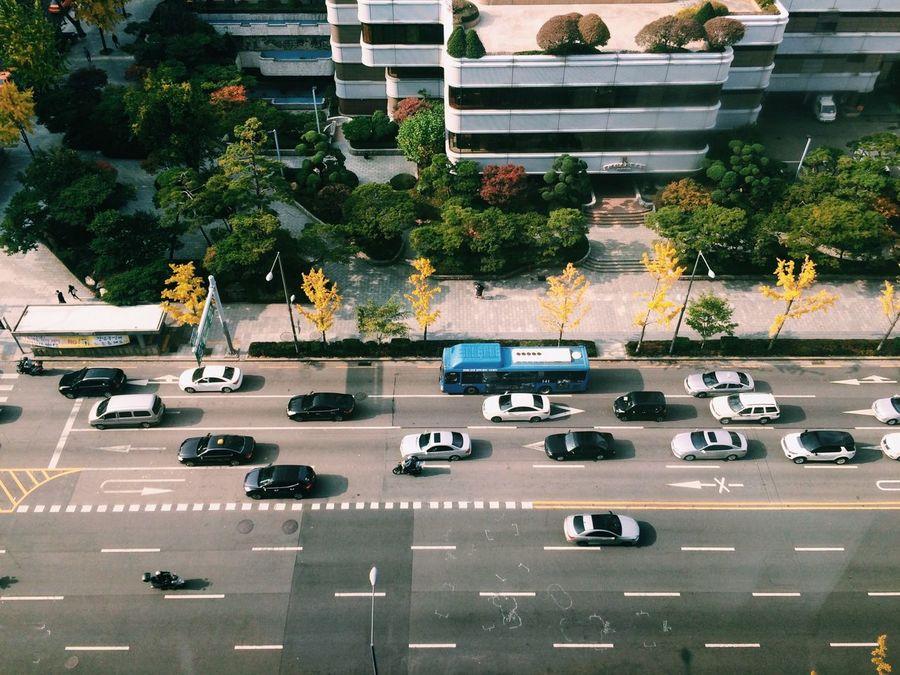 강남, 서울 Gangnam Seoul Streetphotography View From The Window... 江南 ソウル 韓国 Korea IPhoneography IPhone Photography IPhone 5S Vscocam EyeEm Korea Showcase: January